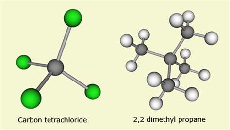 Using the Molecular Builder Carbon Tetrachloride Molecule