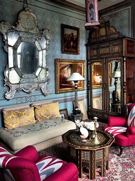 Gypsy Bedroom Decor Boho Chic Ethnic Inspiration In Interior Design Projects