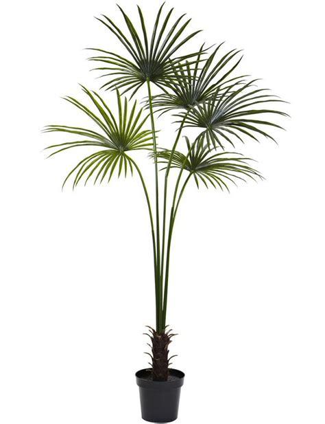 7 fan palm silk tree uv resistant indoor outdoor artificial trees silk trees