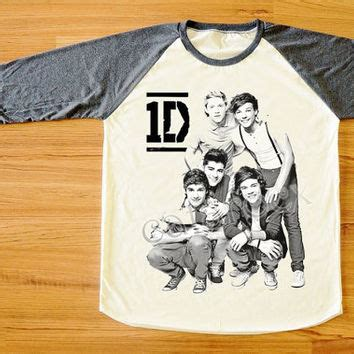 One Direction 08 Raglan best one direction sleeve shirt products on wanelo