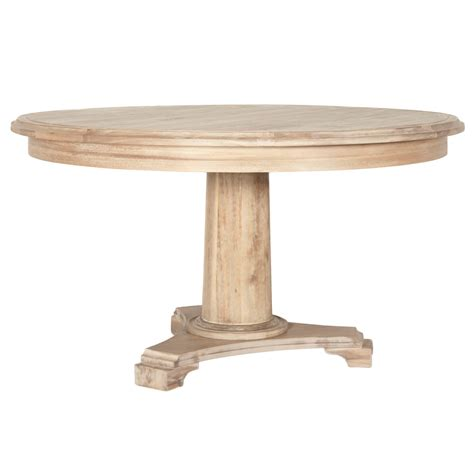 round granite dining table belmont 54 quot round stone wash dining table usa furniture