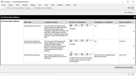 user acceptance report template project management youtube