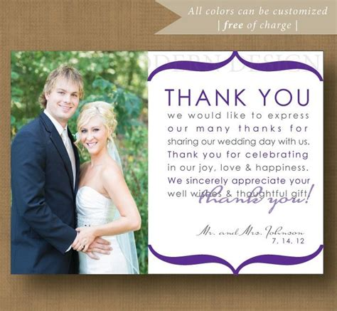 thank you letter after wedding thank you note wedding thank you card printable thank