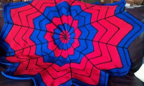 crochet pattern spiderman blanket spiderman crochet blanket crochet pinterest