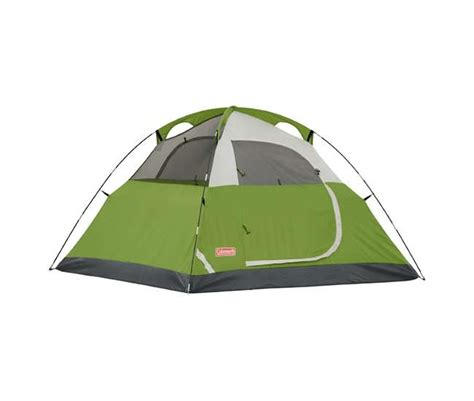 Coleman Sundome 6 Person Tent Redwhite coleman sundome 6 person tent 2000027927 vminnovations