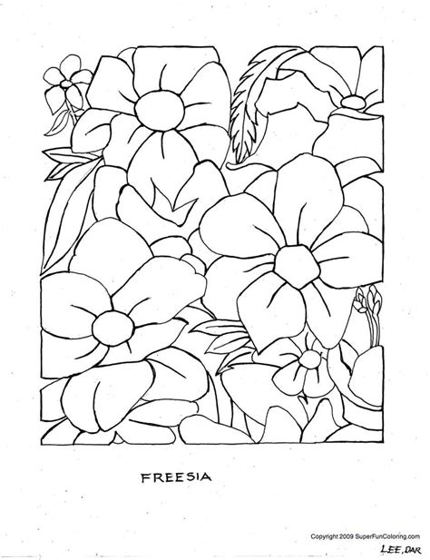 Flower Coloring Free Printable Coloring Sheets Kentscraft Flower Coloring Pages Free