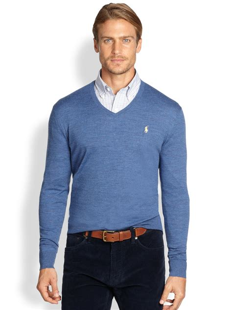 Polo Sweater v neck sweater with polo shirt sweater vest