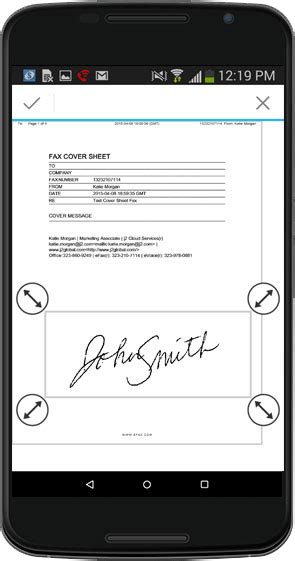 android fax app fax on android phones with the efax 174 mobile app efax 174