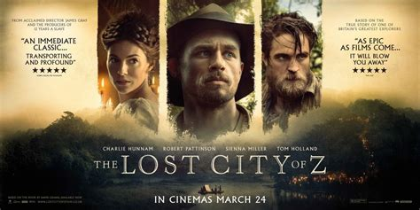 the lost city of z home in the mood for