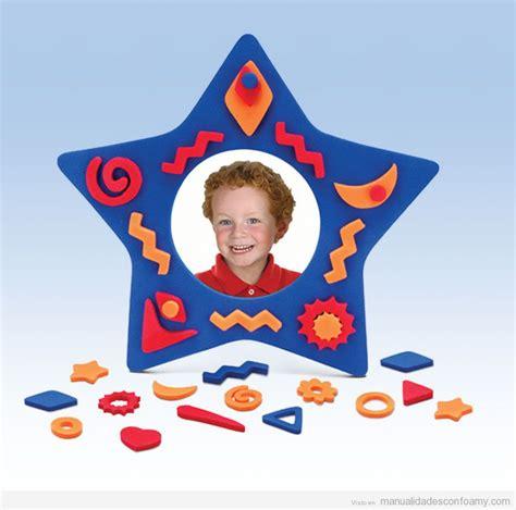 estrella de goma eva y purpurina para decorar el arbol de navidad marco archivos manualidades con foamy