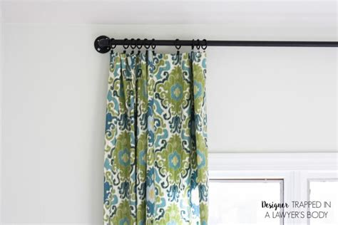 easy way to make curtains how to make curtains the easy way designer trapped