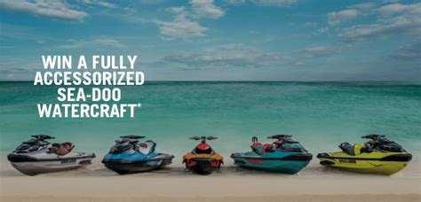 Ski Doo Sweepstakes - win a brp vehicle sweepstakes win a sea doo watercraft