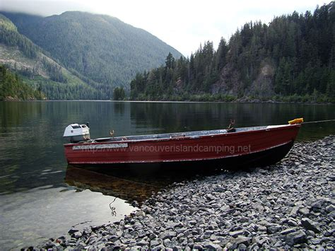 boat launch vancouver island atluck lake vancouver island cing for free