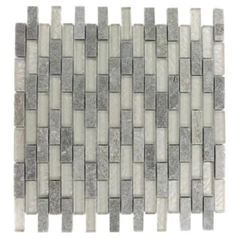 splashback tile tectonic brick green quartz slate and