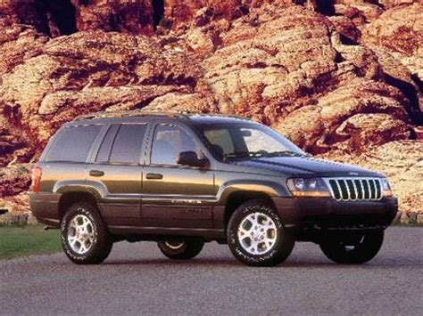 blue book used cars values 1999 jeep grand cherokee parking system 2000 jeep grand cherokee pricing ratings reviews