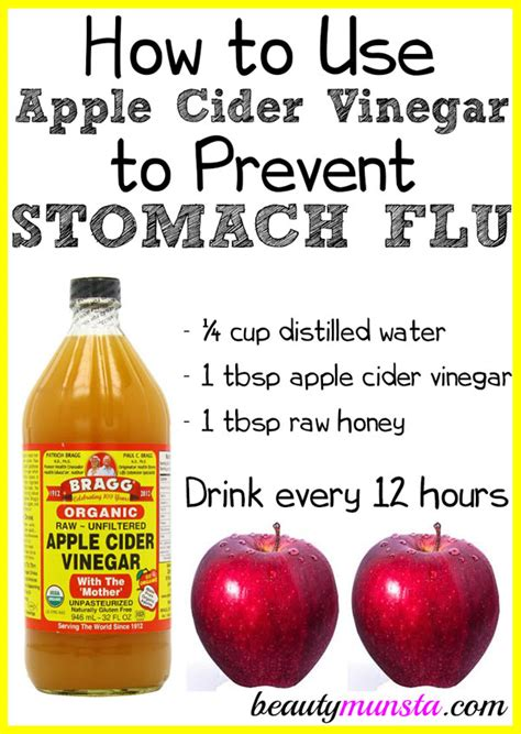 How Do I Use Apple Cider Vinegar To Detox by How To Use Apple Cider Vinegar To Prevent Stomach Flu