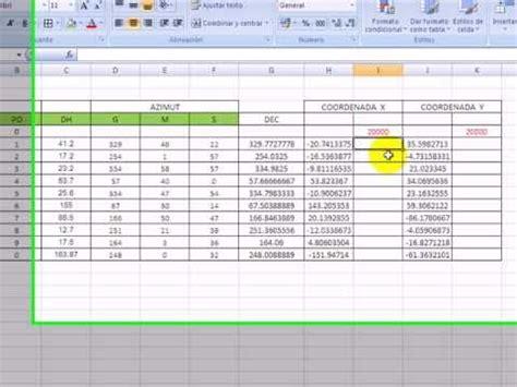 tutorial coordenadas utm dibujar rapido cuadro de datos tecnicos o cuadro de