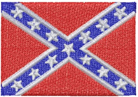 design and meaning of the confederate flag confederate flag embroidery designs machine embroidery