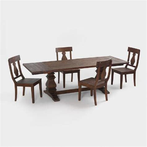 world market dining room table arcadia dining collection world market