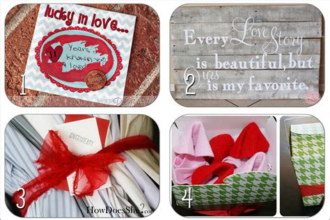 Handmade Valentines Presents - valentines day gift idea roundup