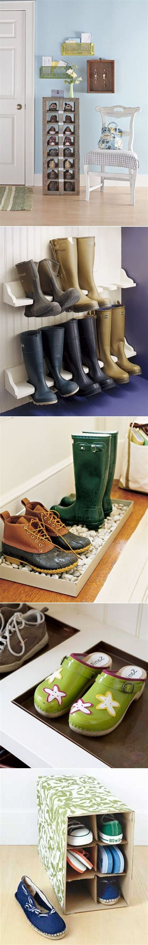 diy shoe storage solutions 5 creative diy shoe storage solutions do it yourself