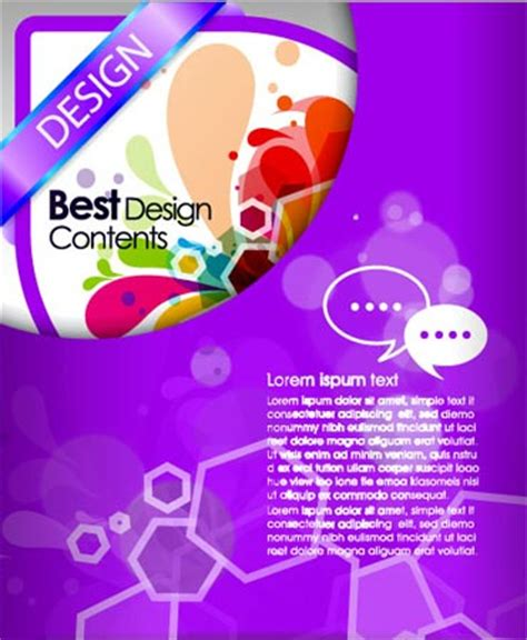 templates flyers corel brochure template design