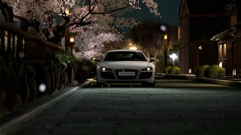 cherry blossoms maserati audi r8 automobiles cars cherry blossoms headlights n