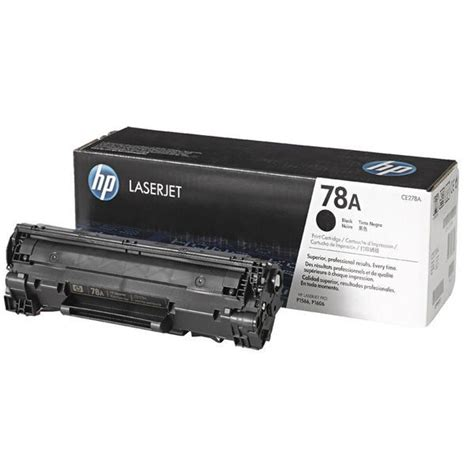 Toner Hp 78a Ce278a hp 78a black toner cartridge ce278a