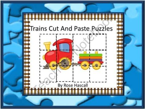 cutting puzzle games 41 best cut and paste activities images on pinterest