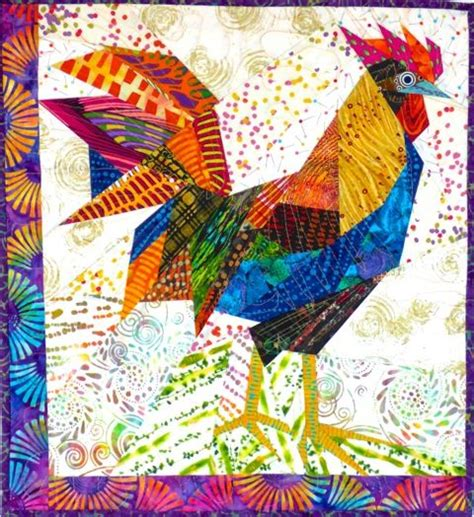 Rooster Quilts by Chicken Quilt Patterns And Roosters On