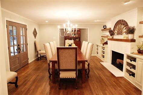 fireplace in dining room instead of living room fixer d r e a m h o m e