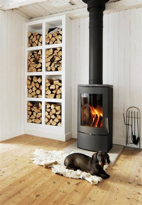 wood stove ideas living rooms 13 wood stove decor ideas for your home brit co