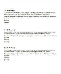 Sle Letter To Parents From
