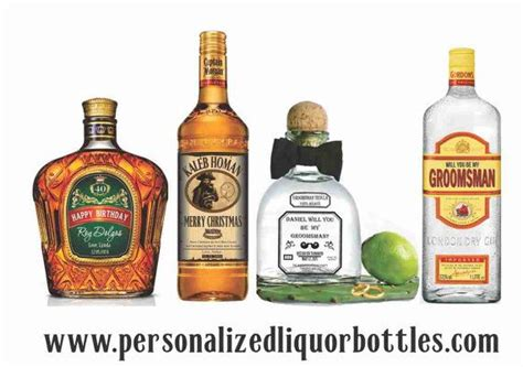 Personalized Liquor Labels