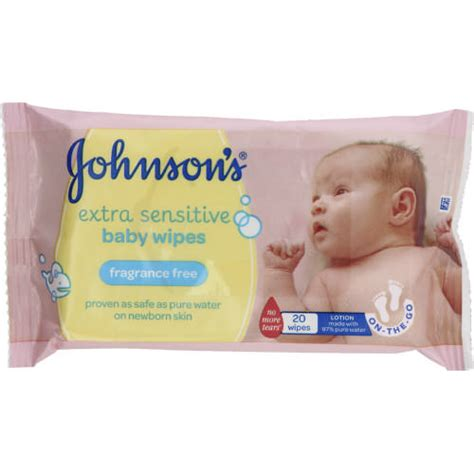 Gentle Detox For Babies by Johnson S Baby Gentle Cleansing Wipes Lightly Fragranced