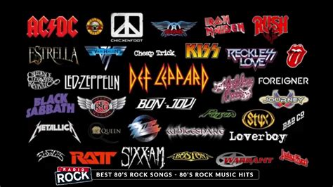 the best of musical best of 80s rock 80s rock hits greatest 80s rock