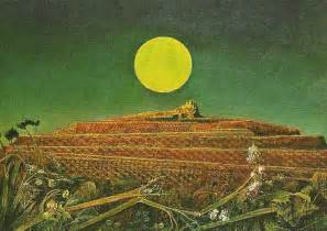 Texture In Painting Techniques - max ernst the nightmare network