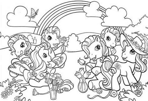 my little pony castle coloring page my little pony doing flower arrangement coloring page my