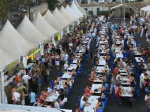 the sardine festival in port de bouc in port
