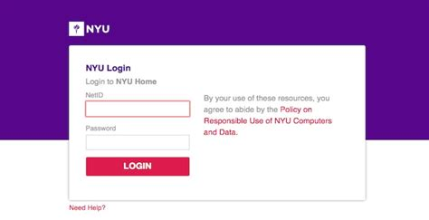nyu login nyu edu home new york