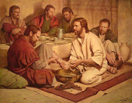 imagenes de jesus lavando los pies jes 250 s lavando los pies a sus ap 243 stoles