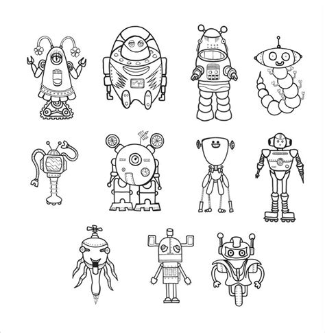 preschool robot coloring pages 140 best images about thema robot kleuters robot theme
