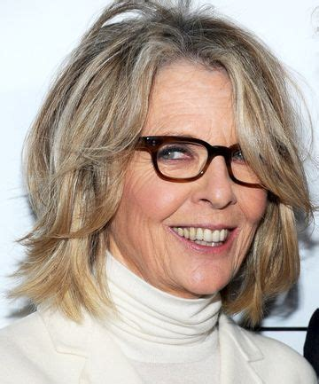 female celebrities with low lights how to flaunt gray hair like a celebrity diane keaton