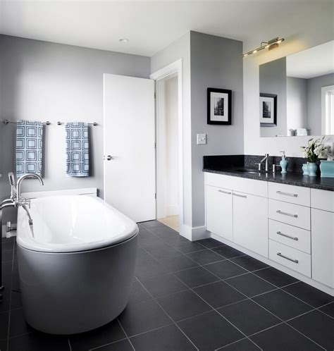 White And Black Bathroom Ideas Black And White Bathroom Wall Tile Designs Gallery