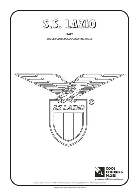 cool coloring pages ss lazio logo coloring page cool