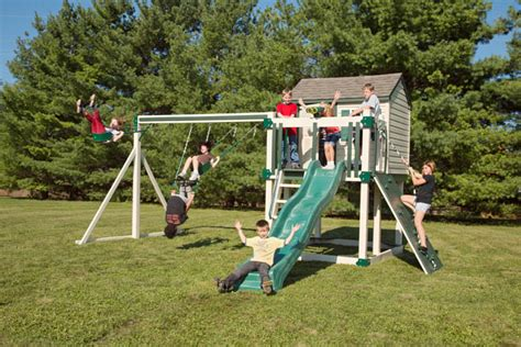 swing sets miami miami quality wooden playsets slides swings