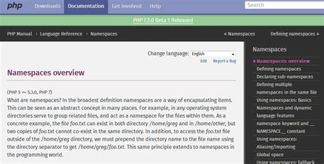 tutorial php namespace advanced php programming how to use namespace in php