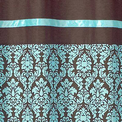 brown turquoise shower curtain pinterest the world s catalog of ideas