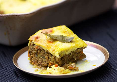 south african comfort food bobotie south africa s delicious meatloaf with custard on top
