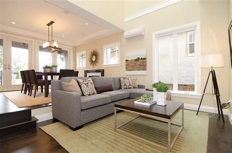 beige couch with gray walls oh custom 4 contemporary living room other by